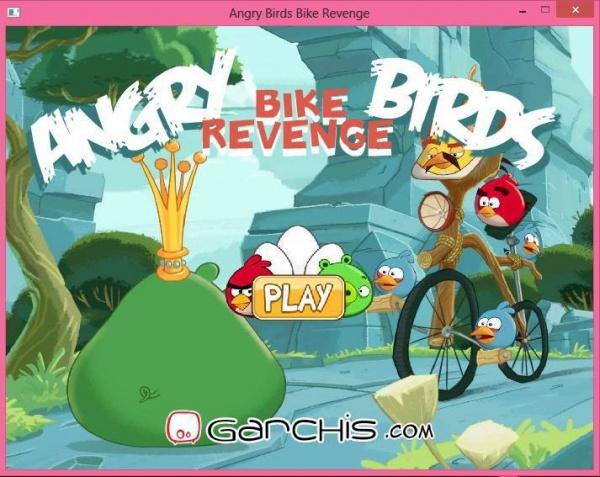 angrybird bike