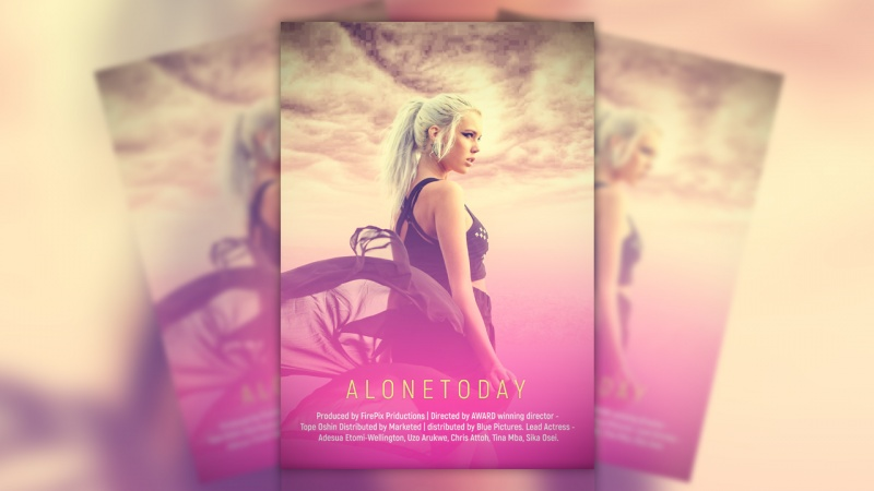 Alone Day - Creative Poster Design